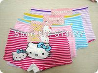 Free shipping  - 12pcs/lot  cotton baby BOYSHORTS children  underwear baby bloomers kids girls underpants