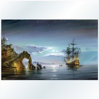 The Best Pictures Painting By Numbers DIY Digital Oil Painting On Canvas Unique Gifts Home Decoration 40x50cmWonders Of Sea D148