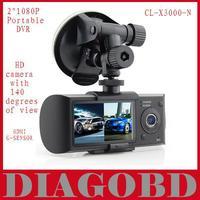 Car DVR  CL-X3000-N 2.0inch 1080P Portable DVR with G-sensor  HD camera  HDMI interface