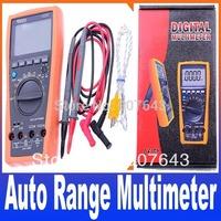 New VC97 31/2 Auto range Digital multimeter analog bar AC DC R C F Temp 3 3/4,compared with FLUKE 15B Free Shipping