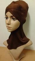 (free shipping)muslim underscarf,muslim hijab ,muslim hijab cap,mixed colors 20colors