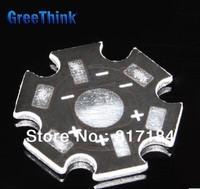Free shipping,100pcs 1W 3W High Power LED Heatsink Heat Sink Aluminum Base Plate