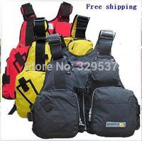 Free shipping New brand life vest professional dual-use multi-function folding life jacket fishing vest