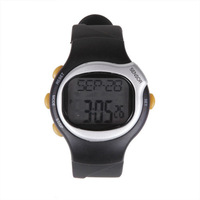 Free Shipping Digital Monitor Calories Counter Fitness Pulse Heart Rate Watch Clock Stopwatch