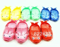 2013 summer male child girls shoes child sandals slippers hole shoes style dollarfish