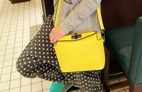 Free shipping!! 2013 candy color fashion  shoulder  bags cute little women's handbag small bucket bag
