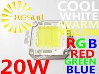 FREE SHIPPING 5PCS/LOT 20W 45MIL  2000-2200LM LED Bulb SMD Lamp Light High Power White / Warm White LED