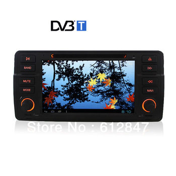 7 Inch  HD  Android 4.0 Stereo E 46 318 320 M3 Car DVD Player GPS Navigation DVBT TV 1 GHz CPU WIFI