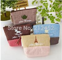 2014 fashion women's mini design wallet female women's 3pcs/set coin wallet,free shipping