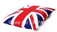 Free shipping UK beanbag, flag design bean bags, English flag bean bag, UNION JACK bean bag cushion