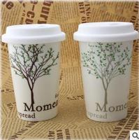 Free shipping 60pcs/lot MOMEAT Ceramic Coffee Cup t Fashionable mug Wholesale