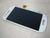 Replacement Full AMOLED LCD Display + Touch Screen Digitizer for Samsung Galaxy S3 SIII mini GT-i8190 i8190 White