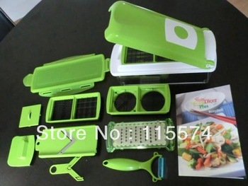 Nicer Dicer Plus Vegetables Fruits Dicer Food Slicer Cutter Containers Chopper Peelers