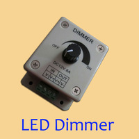 wholesale price 50pcs/lot LED strip light dimmer 12-24V  LED dimmer DHL Free shipping