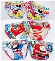 Wholesale 6pcs/lot new baby children underwears famous cartoon character Underewears,Kids Underwear,boy's underwear