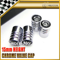 Type B Shinny Glossy Polished Tire Chrome Metal Valve Cap 4pcs/set For MAZDA FC3S FD3S RX8 CX5 CX7