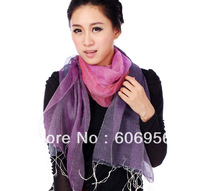 50%cotton 50%linen  women scarf 170cm*70cm  fashion long scarf style chiffon hijab/bandana  free shipping