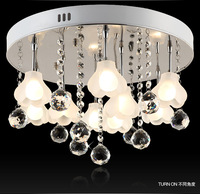 free shipping Lamp modern crystal lamp fashion lamp ceiling fitting bedroom lamp living room lights brief decorative lighting