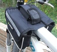 Wholesale Cycling Bike Black Bicycle Frame Pannier Front Tube Saddle Bag travel organizer 3 colors [y2060]