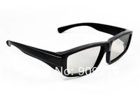 Free shipping New 3D glasses Polarized 3D glasses computer 3D TV
