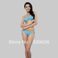 Free Shipping!2013 new split strap swimwear beach swimsuit fashion bikini swim wear sexy high-quality swimsuit M-XL