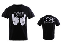 Free shipping 2013 Wholesale DOPE men's t shirt fashion Cotton t shirt S M L XL XXL TM-N25