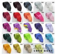 Mix Wholesale 5.5cm Pure Solid Fashion Student Children Tie School Uniform Bow Tie NeckTie Kids Accessories Cravat
