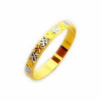 New Arrival!! Fashion 24K GP Gold Plated Mens&Women Jewelry Ring Yellow Gold Golden Finger Ring Free Shipping YHDR020