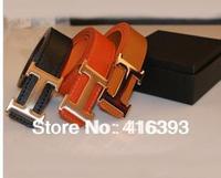 Free Shipping, Wholesale Free Shipping wholesale New Fashion  Nice color belt,Metal belt buckle, both men and women belt-Sun008