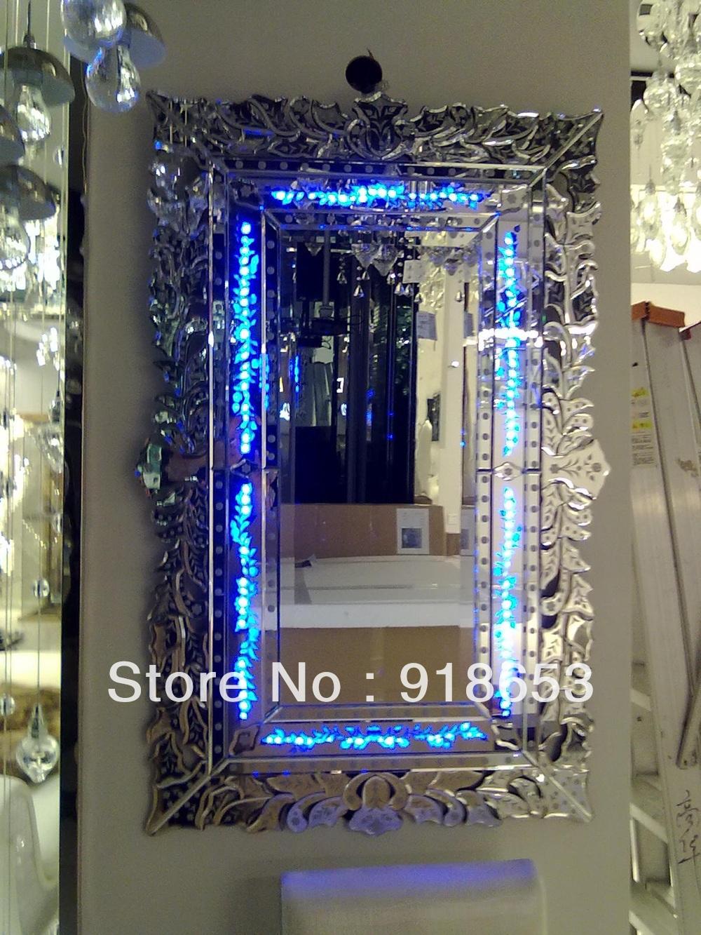 2013 Popular Decorative Bathroom Mirror With LED