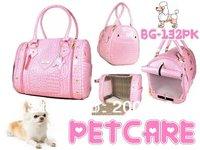 Senior crocodile pattern Korean feed pet package (strapless)  Pet Dogs Carrier Bag