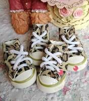 Super Fashion Dog Canvas Shoes Pet Sneaker Pet Footwear Wholesale/Retail Dog Supplies #9229