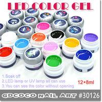 Led Pure  Gel Colour  Soak Off