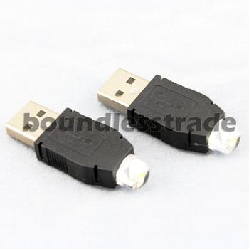 OPHIR  5PCS 5V 0.5W LED Portable Outdoor USB Hunting Camping Light Cool White Flashlight HOT_KD152
