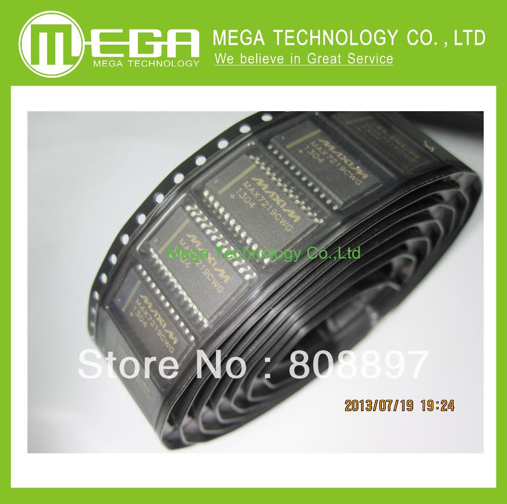 10 шт. MAX7219CWG SOP-24 MAX7219 серийно сопряженное, 8-Digit из светодиодов дисплей драйверы куртка cwg canada weather gear куртка