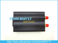 China Post Free Shipping SMS GSM GPRS GPS Tracker for Car Auto Vehicle Car alarm (VT103A)