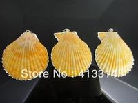 S-50 Fashion Shell  Gift  3Pcs/Lot Shell Pendant Necklace Pendant