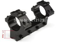 25.4MM 1'' Low Profile Scope Mount 11mm Weaver Rail 100mm Long For Rifle Scope Double Scope Ring Mounts