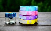 Free shipping Repellent natural anti mosquito insect/pest killer set:bracelet+essential oil, 5sets/lot wholesale bulk price