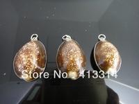 S-35 Fashion Shell  Gift  3Pcs/Lot Shell Pendant Necklace Pendant