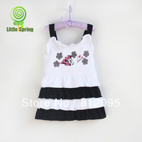 Retail Minnie Mouse Girl Layered dress, 3-4years, girls summer layered dresses girl slip braces dress Little Spring GLZ-Q0005