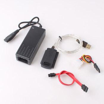 1Pcs USB 2.0 to SATA IDE 2.5 3.5 Hard Drive Disk HDD Adapter  #332