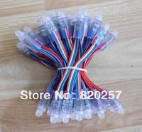 DHL EMS Free shipping 200pcs lot 12mm led pixel module IP66 DC5V input 0.3W RGB color changing