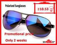 2014 fashion high quality  men Polarized sunglasses Free shipping