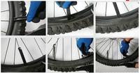 2013Hot sale 3pcs/lot Bike Bicycle POM black plastic crowbar repair tool Grilled tire rods -Wholesale/Drop shopping[y002048]