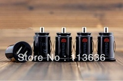2013 newest car sharger 2-Port Dual USB Car Charger for iPhone 4s for iPod for ipad galaxy all phone 5V-2.1A Free Shipping(China (Mainland))