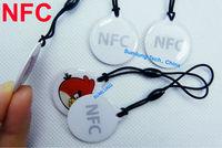 2pcs NFC Tag for wp8 Lumia 1020 Android Galaxy S4 Google Nexus 4 10 Nokia BlackBerry  Samsung Sony HTC LG RFID IC NDEF NTAG203