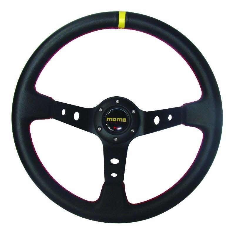 Momo Steering Wheel Suede Suede Sport Steering Wheel