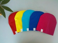 Free shipping 5pcs/lot fashion infant caps colorful cotton kids beanie hats Hot Sale baby hat with lowest price