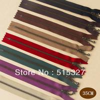 Japan YKK #3  Bronze Zippers DIY for bags 8pcs/lot 35CM
